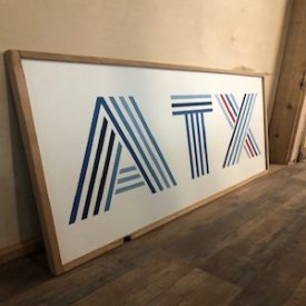 ATX Lines Sign -custom made