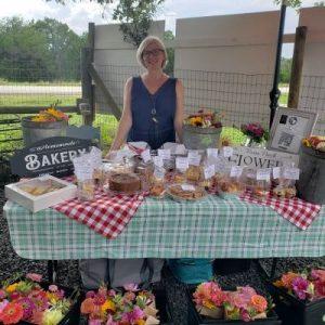 Isabelle at market